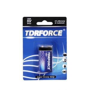 6F22 Heavy Duty Battery 9V Zinc Carbon