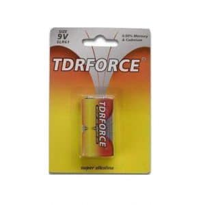 Alkaline battery 6LR61-1B