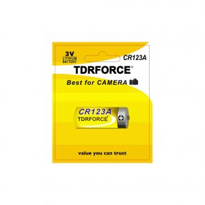 Lithium Battery CR123A batteries CR17335 3V in blister card