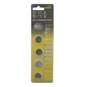 Lithum battery CR1620 button cell in blister card