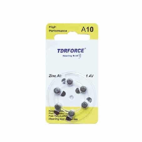 PR70 Zinc Air Battery Hearing aid A10-6Pcs Pack