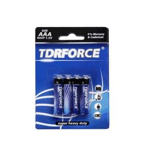 R03 AAA Heavy Duty carbon zinc Battery 1.5V