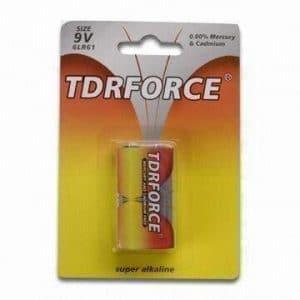 9 Voltage Alkaline battery 9V battery 6LR61 9V-1B